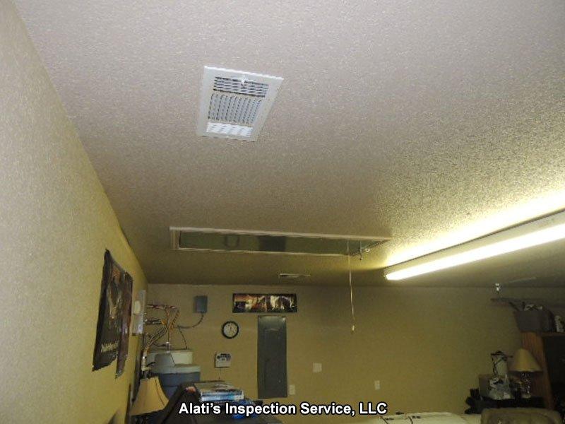 HVAC in Garage